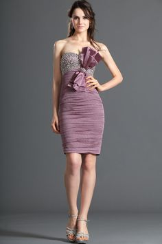 eDressit Strapless Shiny Beadings Cocktail Dress Party Dress