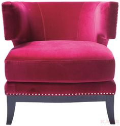 Arm+Chair+Art+Deco+Fuchsia