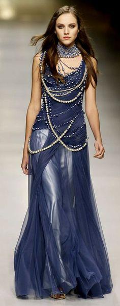 BLUE & TURQUOISE PRINTED DRESSES jaglady