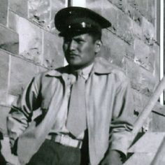 Corporal Chester Nez - Navajo code talker, 1st and 3rd Marine Divisions. Chester the last survivor of the original 29 Navajo who developed the code first used in WWII against the Japanese.