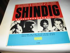 Various - Shindig With The Stars Vol. 2 , record near mint 1964