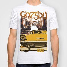 Retro design of Gozsdu Passage with a car T-shirt Shop: https://society6.com/product/retro-design-of-gozsdu-passage-with-a-car_t-shirt#11=49&4=99 Design by András Balogh Ruin Pub District, Budapest retro design series