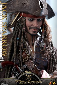 Hot Toys - DX15 - 《神鬼奇航5:死無對證》1/6 比例 傑克·史派羅 Pirates of the Caribbean: Dead Men Tell No Tales Jack Sparrow | 玩具人Toy People News