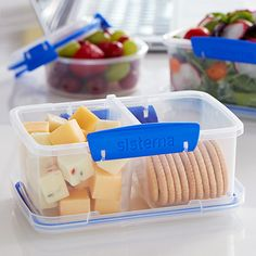 Food Storage Container Smart Seal Glass 14pc Blue - OXO : Target Glass Food Storage, Plastic Container Storage, Baking Utensils, Food Storage Containers, Diy Food, Meal Planning, Lunch Box, Snacks, Meals