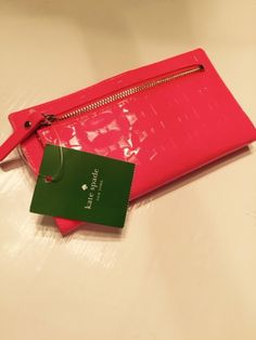 """AUTHENTIC (NWT) Kate Spade Stacy """"Fancy That"""" Slim Snap Continental Wallet - $79"""