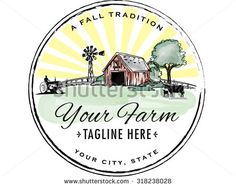 Vintage Farm Logos | Windmill logo Stock Photos, Images, & Pictures | Shutterstock