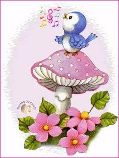 Ideas For Robin Bird Cartoon Art Drawings For Kids, Cute Drawings, Animal Drawings, Bird Clipart, Cute Clipart, Baby Drawing, Cute Birds, Cute Illustration, Fabric Painting