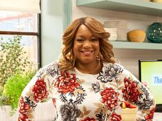 """""""I am hungry, I am impatient and I am lazy. This is how I cook."""" Get to know #TheKitchen co-host Sunny Anderson."""
