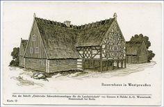 """Westpreußen, Bauernhof (aus Siemens & Halske """"Elektrische Schwachstromanlagen f.d. Landwirtschaft), um 1910"""