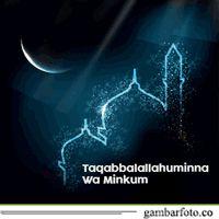 Dp Bbm Ucapan Selamat Lebaran Idul Fitri 1436 H Bergerak