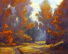 Canyon Road Contemporary David  Mensing His Delight