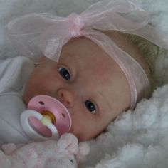~ Doves Nursery ~ Newborn Reborn Baby Girl Doll ~ Ping Lau Sculpt