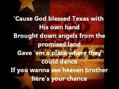 Little Texas- God Bless Texas (with lyrics) - YouTube