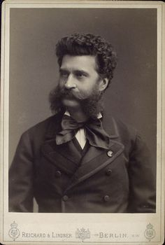 Johann Strauss. Could write a memorable tune. And what a fine moustache!