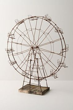 because what home is complete without a ferris wheel from anthro!?