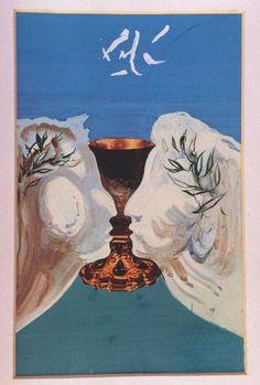 """""""Die Gold Chalice"""" von Salvador Dali (1904-1989, Spain)"""