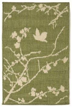 Trans Ocean Terrace Collection 1773/76 Plum Blossom Green