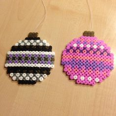 Christmas bauble ornaments hama beads by tinekhp