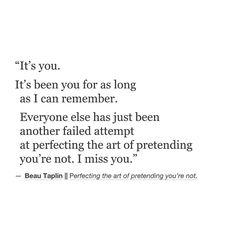 It's you... Still