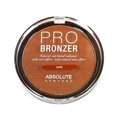 Pro Bronzer By Absolute New York (APB03 - DARK) * Click image to review more details.