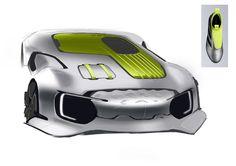 Sangjai Lee car design: sketch