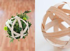 Boxwood Pendant DIY | Project Wedding