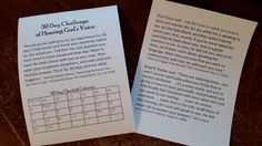 Check out this awesome challenge given by Wendy Watson Nelson, wife of President Russell M. Nelson.   I gave this challenge to my Relief So...