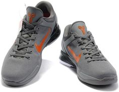 http://www.asneakers4u.com Nike Zoom Kobe 7 VII  Wolf Grey/Orange