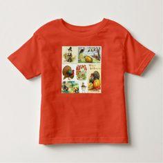 Thanksgiving Medley Vintage Toddler T-shirt - thanksgiving tshirts custom unique happy thanksgiving holiday celebrate