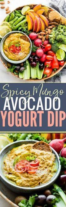 This Spicy mango avo This Spicy mango avocado yogurt dip is NOT your average healthy appetizer! Its A NEW TASTY way to eat veggies! Mango yogurt avocado and a kick of spice from chilis makes this easy snack recipe a protein rich dip! www.cottercrunch.com Recipe : http://ift.tt/1hGiZgA And @ItsNutella  http://ift.tt/2v8iUYWwww.cottercrunch.com Recipe : http://ift.tt/1hGiZgA And @ItsNutella  http://ift.tt/2v8iUYW  This Spicy mango avo This Spicy mango avocado yogurt dip is NOT...