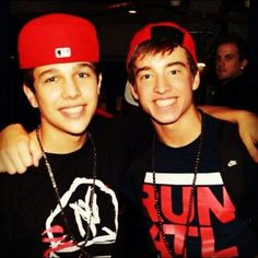 Austin Carter Mahone and Peyton Levi Sanders :)