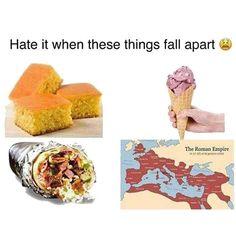 Time To Keep It Together ? http://Stopwatch.OnlineClock.net #Rome #RomanEmpire #Burritos #Cornbread #IceCream #Food #Foodie #Yummy #Recipe #Cooking #HeathyEating #Recipes #History #HistoryNerd #HistoryBuff #LMFAO #Meme #Memes #DankMemes | https://lomejordelaweb.es/