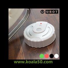 Robot Mopa Ubot - 12,64 €   ¡No vuelvas a derrochar esfuerzo limpiando el suelo nunca más! Simplemente tienes que dejar elrobot mopa Uboten el suelo y encenderlo.Ubotempezará a girar limpiando el suelo de toda la...  http://www.koala50.com/ideas-para-el-hogar/robot-mopa-ubot