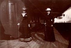 Tsarina Alexandra Feodorovna and friend Anna Vyrubova