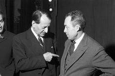 Albert Camus and André Malraux, Albert Camus, Etat Civil, Reading Notes, Paris Match, Mystery Parties, French Photographers, Culture, Good People, Black And White