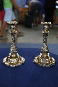 Tiffany & Company Candlesticks, ca. 1895  $4,000 Auction  –  $6,000 Auction