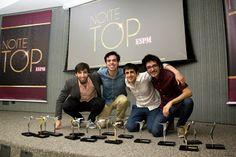 O grupo que realizou o Projeto de Graduação ESPM (PGE) Mondelez Bubaloo, foi o vencedor do Grand Prix da Noite Top ESPM, 2013/2.