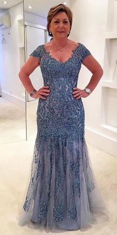 Plus Size Beaded Sequin Cap Sleeve Mother of the Bride Dress Formal Mermaid Gown, Shop plus-sized prom dresses for curvy figures and plus-size party dresses. Ball gowns for prom in plus sizes and short plus-sized prom dresses for Mother Of The Bride Plus Size, Mother Of The Bride Gown, Mother Of Groom Dresses, Mothers Dresses, Mob Dresses, Plus Size Prom Dresses, Formal Dresses, Party Dresses, Plus Size Gowns Formal