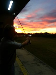 Mi office afternoon! Golf Academy, Mario, Celestial, Sunset, Outdoor, Outdoors, Sunsets, Outdoor Games, The Great Outdoors