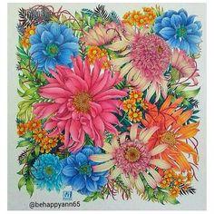 Stunning!! Coloured by @behappyann65 ❤️