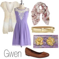 Inspired by Gwen (Merlin) I actually love this outfit!