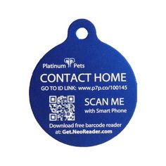 Have one of these for my Maggie. So much less invasive than a chip. When someone scans your dogs QR code it sends their location to your phone.