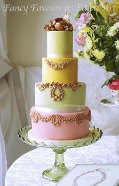 Laduree inspired cake - Cake by Edible Art by Sawsen