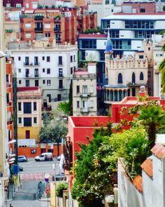 Vallcarca #vallcarca #barcelona #bajadas #densidad