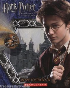 Harry Potter and the Prisoner of Azkaban movie poster book.