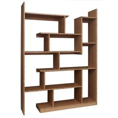 Bamboo Stagger Metro - modern - wall shelves - other metro - Brave Space Design