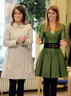 Princesses Eugenie and Beatrice