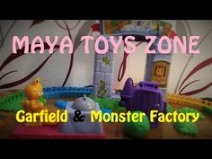 Garfield & The Monster Factory / Maya TZ - YouTube