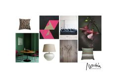 Moodboard for a feminine interior in Amsterdam by www.noubia.com. #noubia_interieurontwerp #interiors #interiordesign #palette #pink #mood #interieuradvies #interieurarchitect #styling #interiorinspo