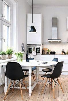 Белая кухня: 6 преимуществ + 40 вдохновляющих фото | Sweet home